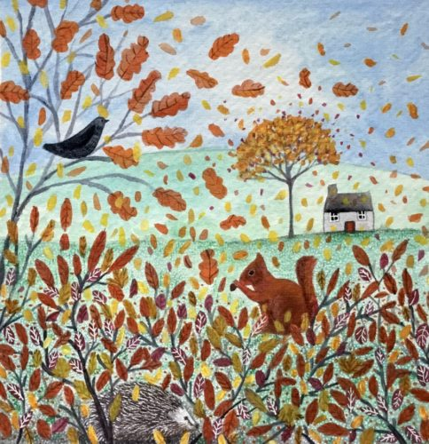 Breezy Autumn Day by Janice MacDougall
