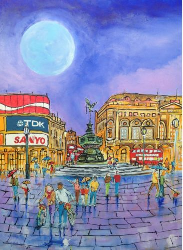 Piccadilly Moon by David King