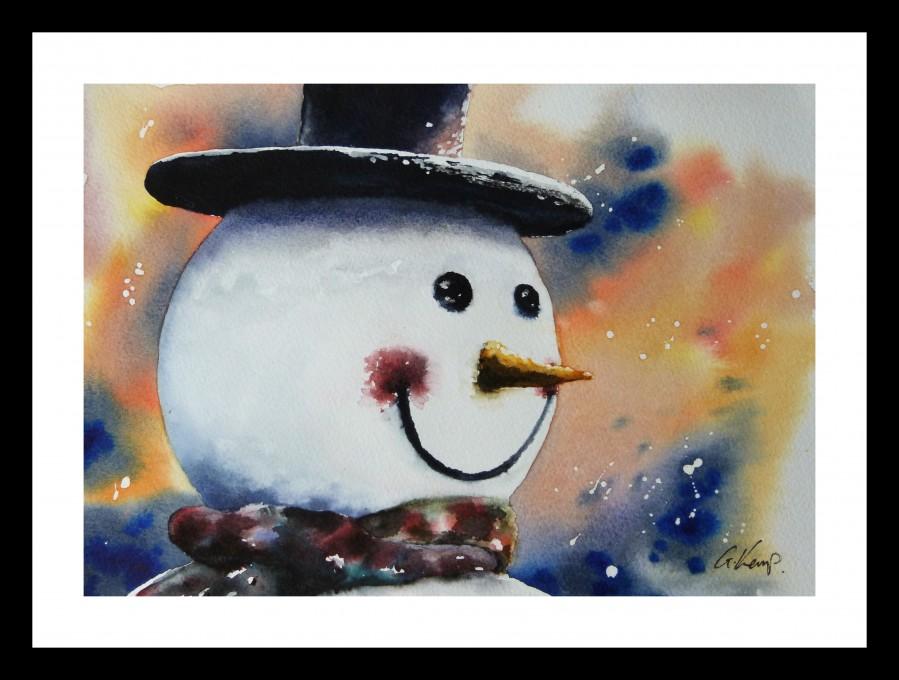 Snowman by Graham Kemp