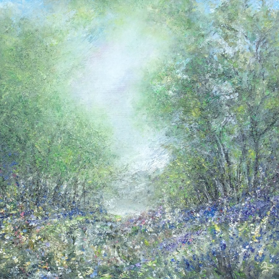 Another Day Bluebell Wood by Janice Rogers