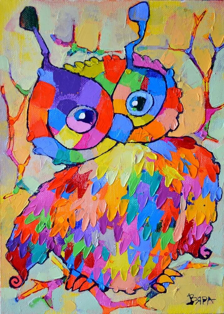 Owl by Vyara Tichkova
