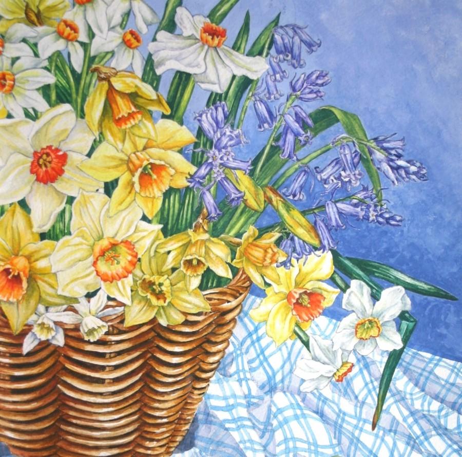 Spring Flowers by Zoe Elizabeth Norman