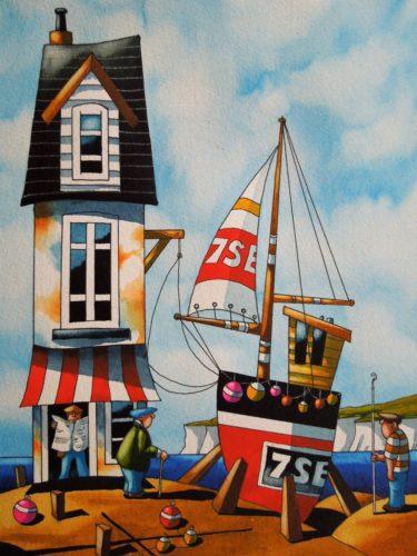 Cornish Sails by Paul Kiernan