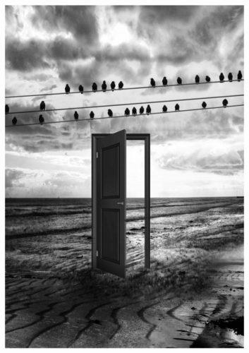 The Door to Interdimensional Solitude by Neil Hemsley