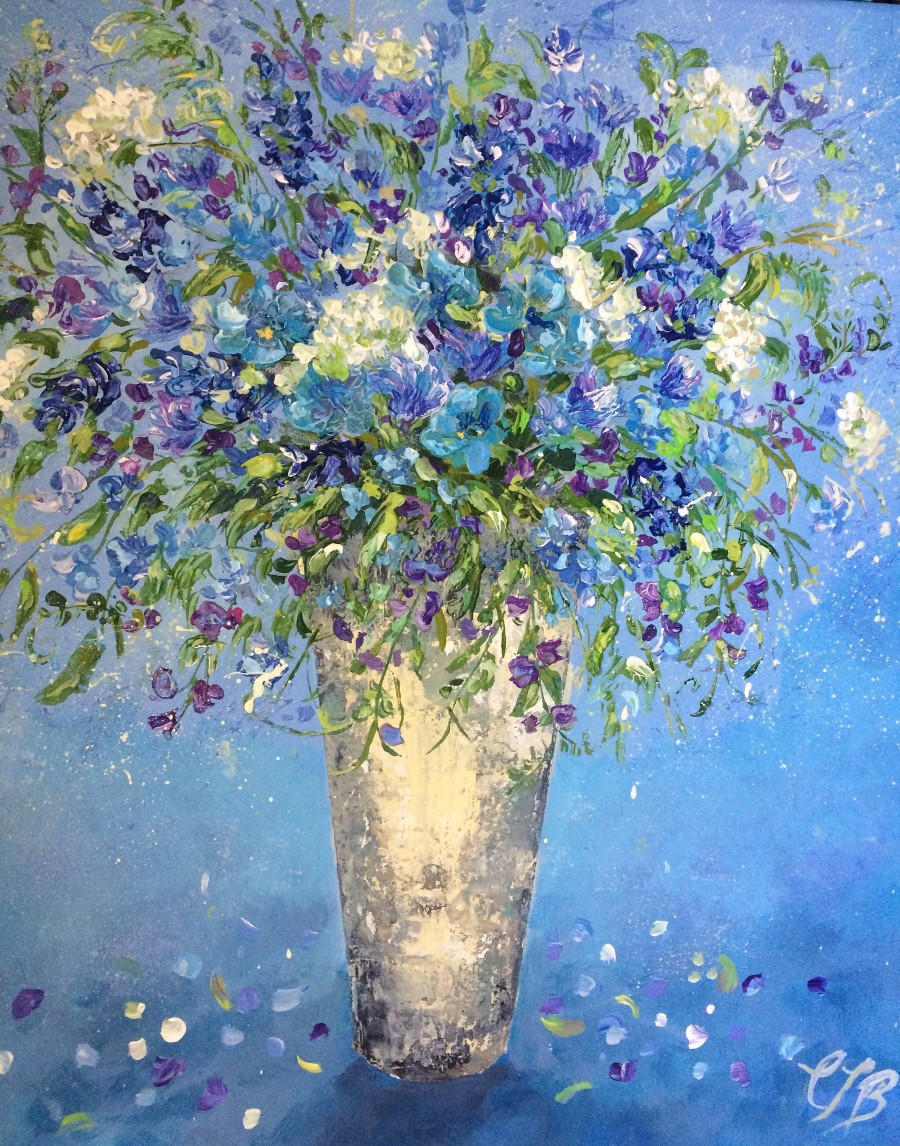 Flowers from the Meadow by Colette Baumback