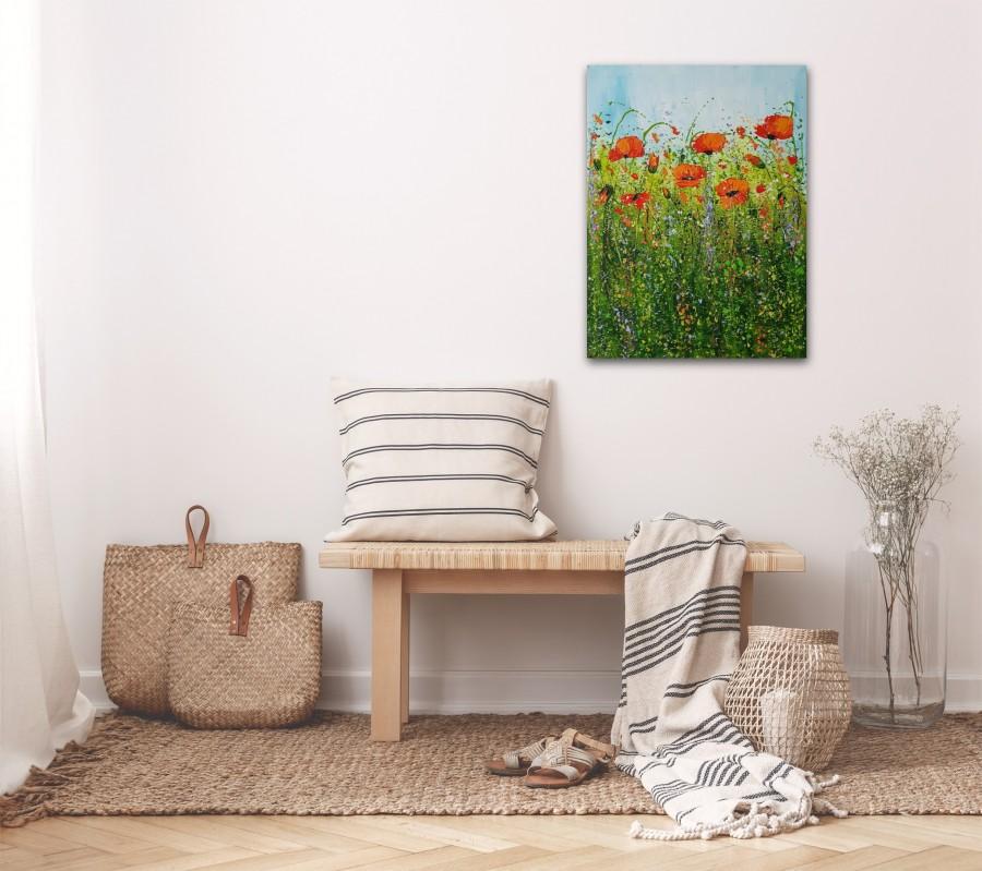 The Poppy Field by Cinzia Mancini
