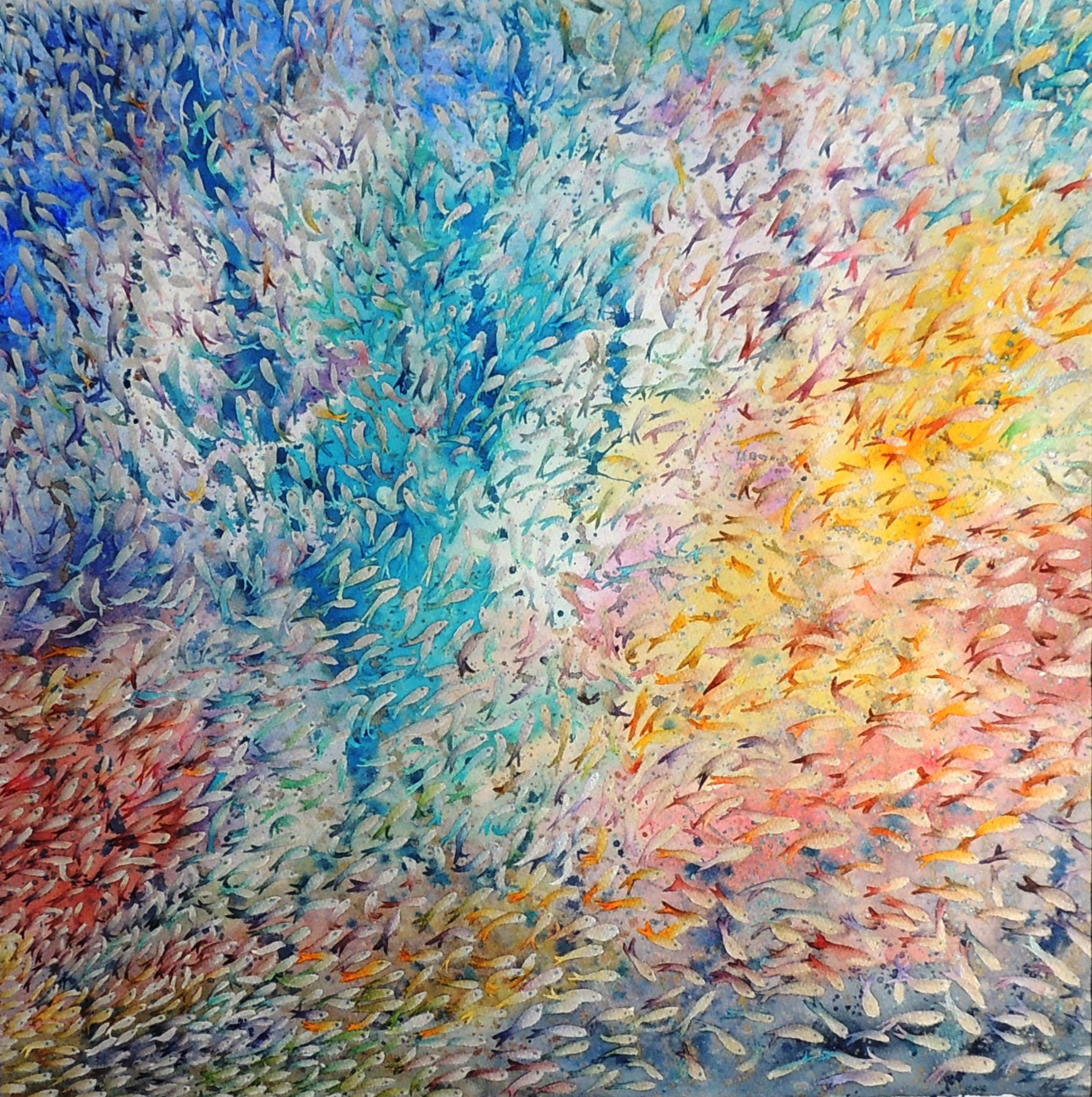 Cosmic Fish by Elizabeth Sadler