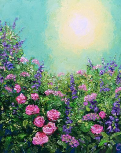 Flowers in the Sun by Colette Baumback