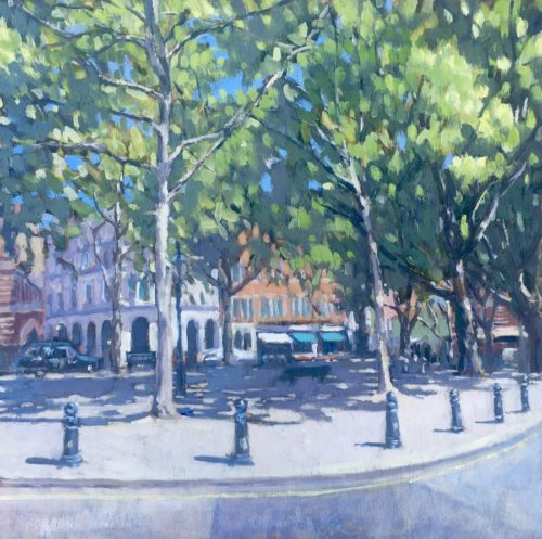 Summer in Sloane Square by Louise Gillard
