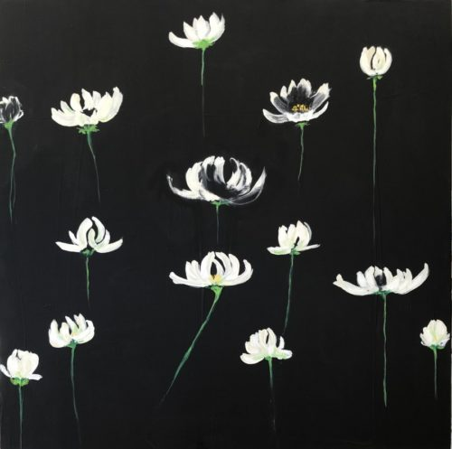 Lotus Flowers by Candida Slater