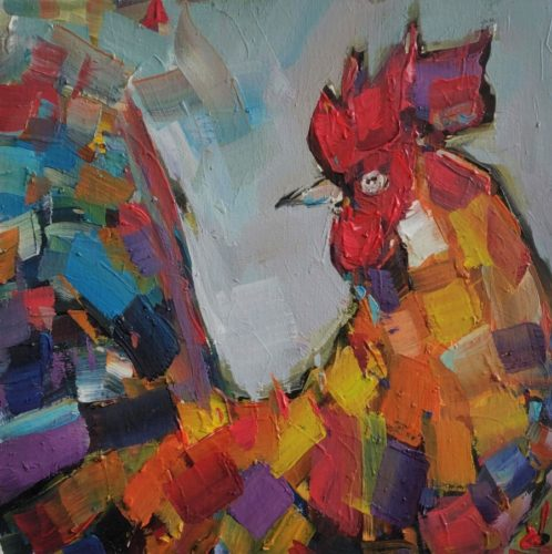 The Rooster by Vivek Mandalia