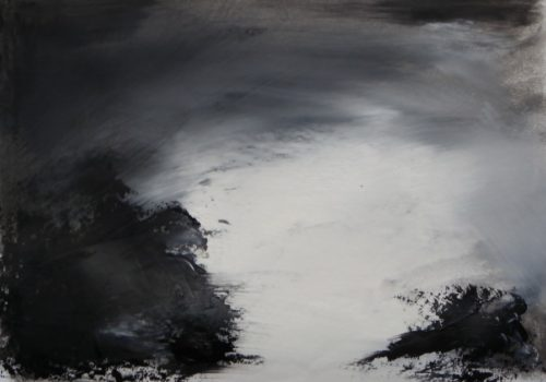 Abstraction in Monochrome study 24 by Wendy Hyde