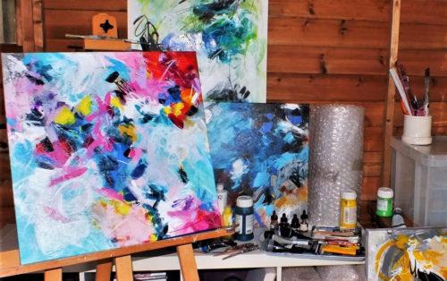 Jacqueline Taylor's studio