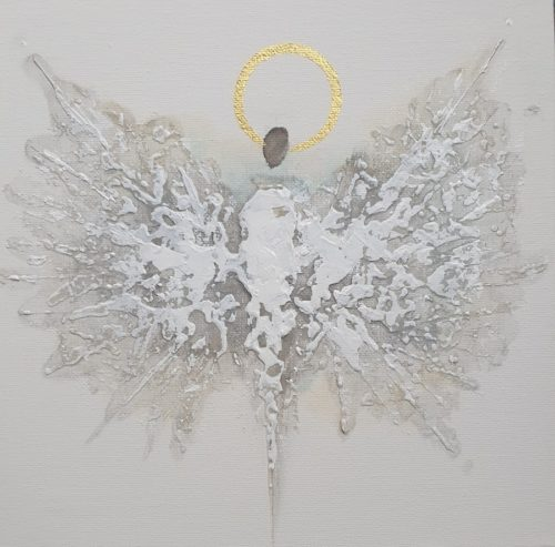 Angel by Bernadetta Dziubinski