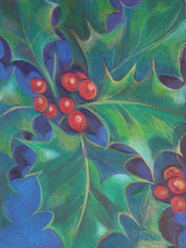 Christmas Holly by Dawn Rodger