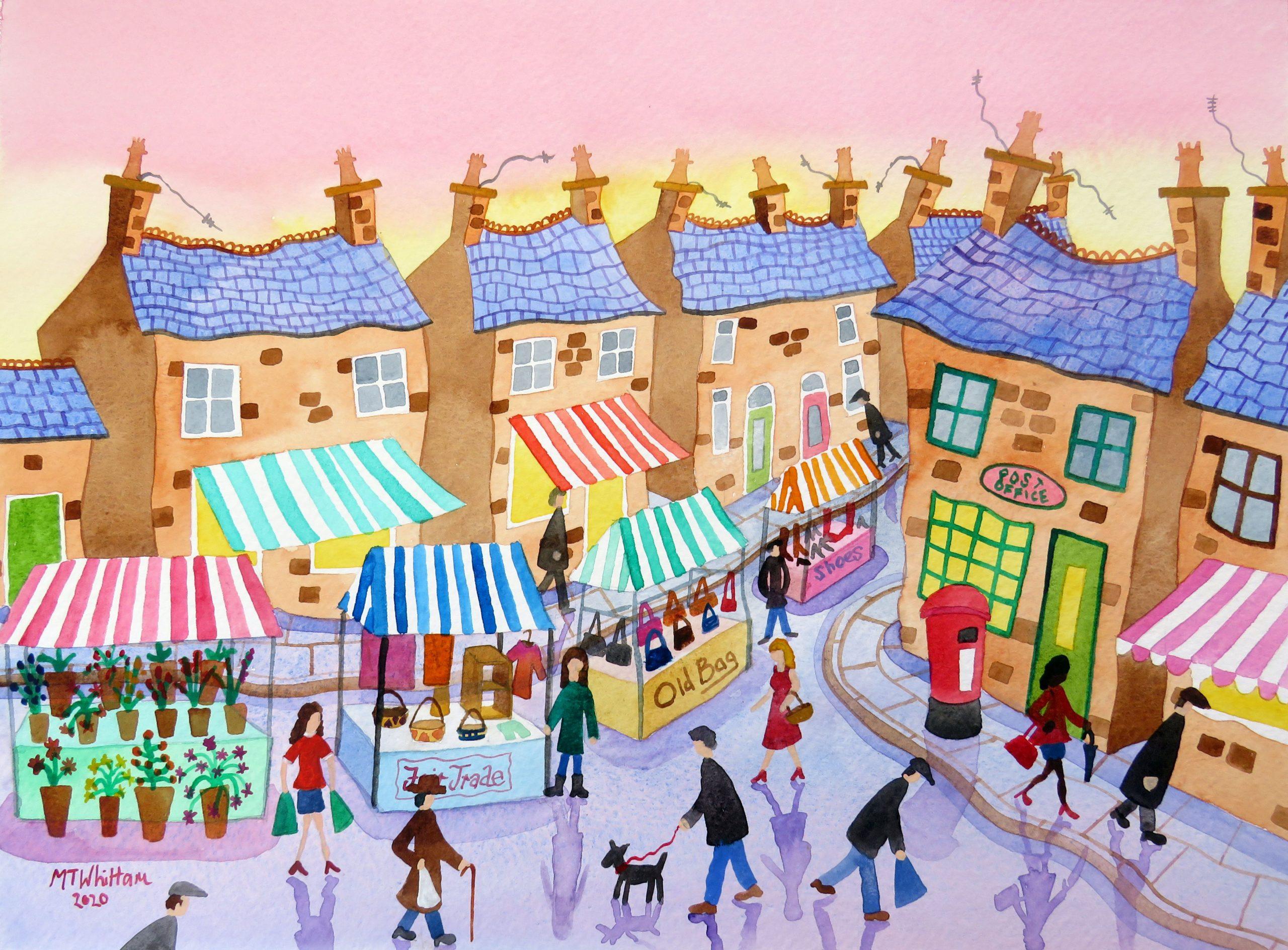 Market Street by Martin Whittam