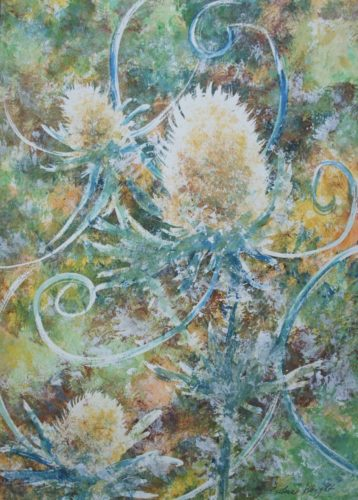 Crazy Thistle by Silvie Tupa