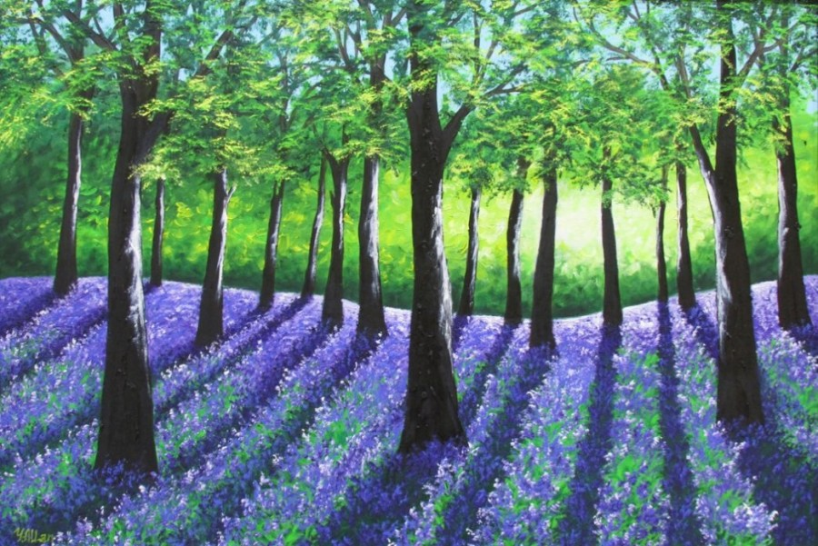 Bluebell Woods by Yulia Allan