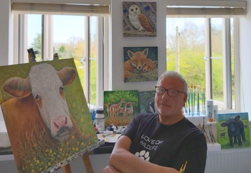 Art2Arts Artist Ian Stewart