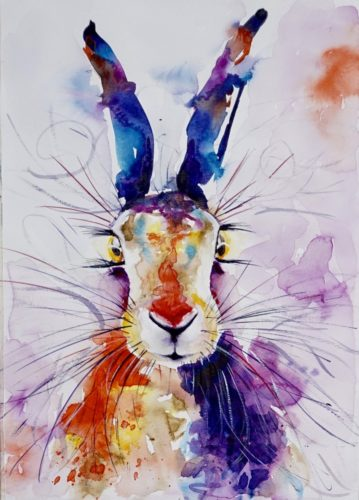Mad March Hare by Anna Pawlyszyn