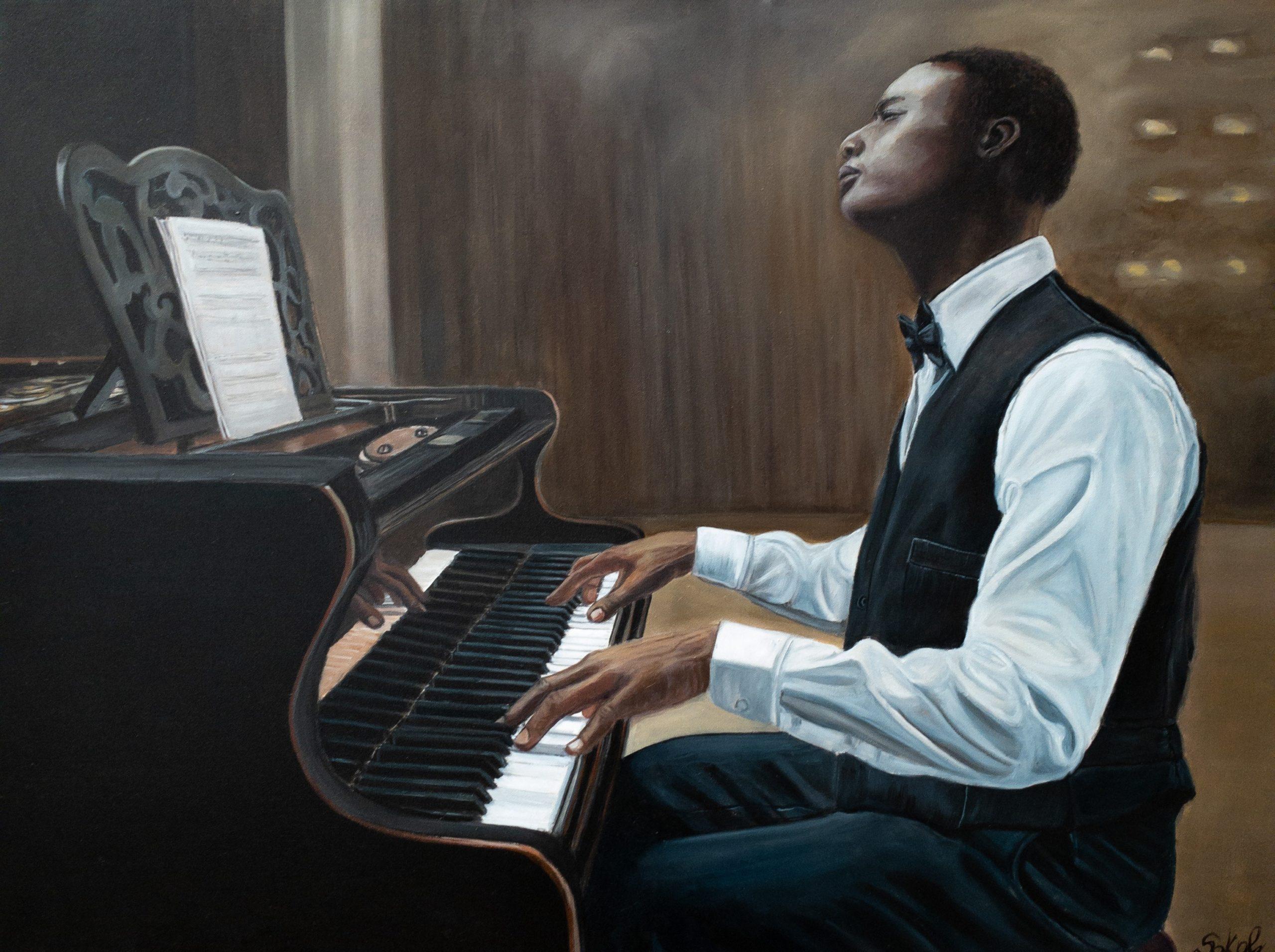 The Pianist by Kinga Sokol