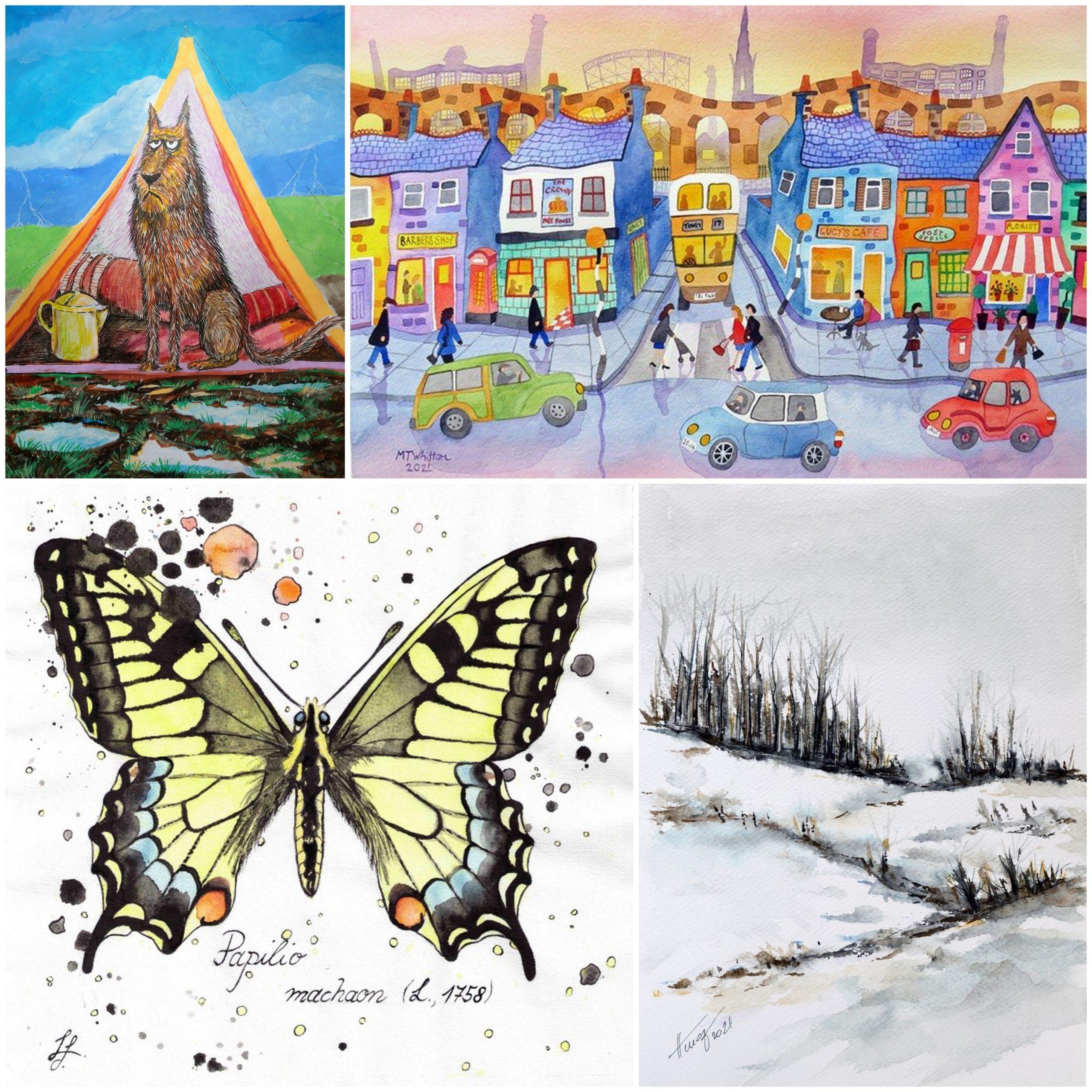 Illustration at Art2Arts gallery