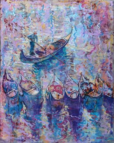 Venetian Watercolor Morning.