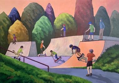 Down the Skate Park