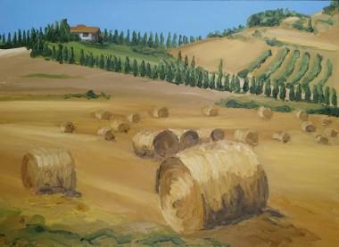 Tuscany Hay Bales