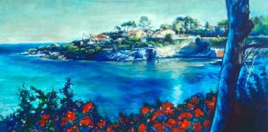 Cote De Azure French seascape