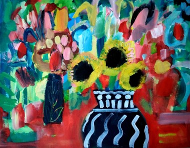Still Life with Sunflowers IV