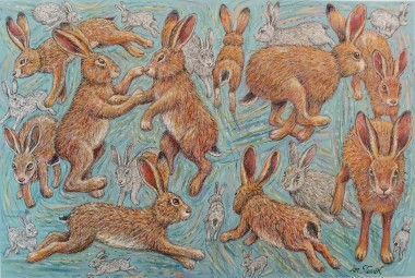 Hares full view