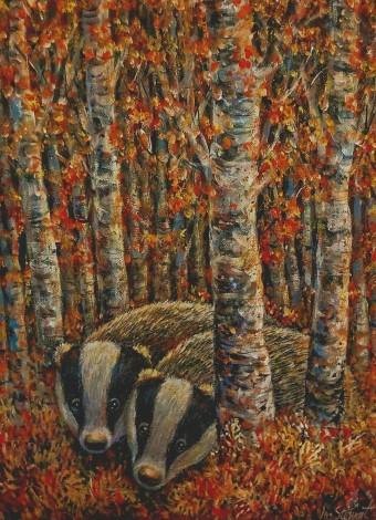 Badgers full view