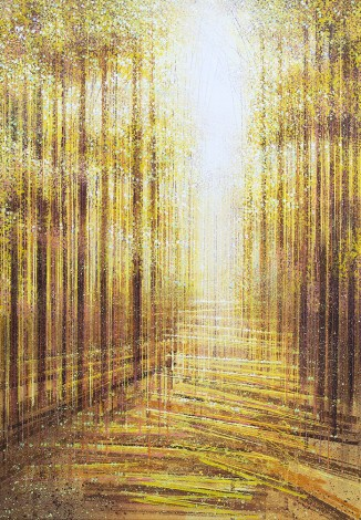 Autumn Trees In Golden Light