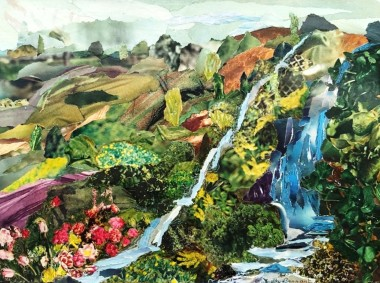 Waterfalls collage