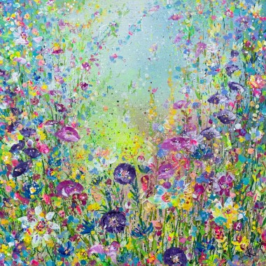 Psychedelic Floral Meadow