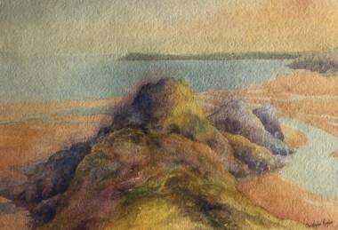 Three Cliffs Bay Impression