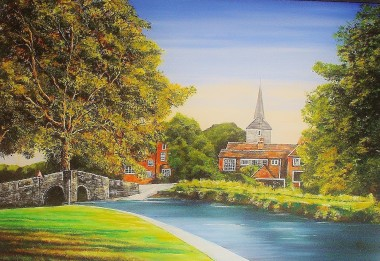 Eynsford Village, Kent