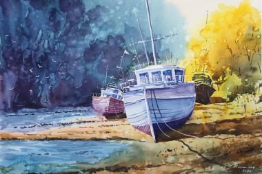 Mooring Boats