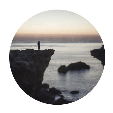 Sunset with silhoutte-  limited edition giclee print
