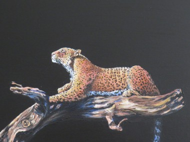 The Leopard painting
