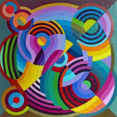 A Composition Of Rhythmic Curves