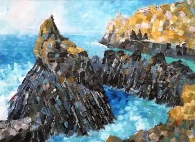 Abereiidi Rocks Pembrokeshire west wales