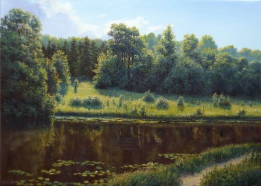 Afternoon on the River Landscape