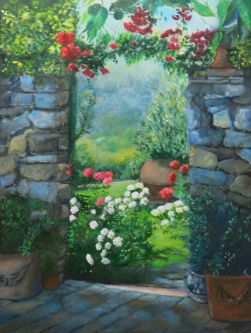 An Archway of Roses