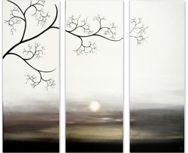 tree landscape painting