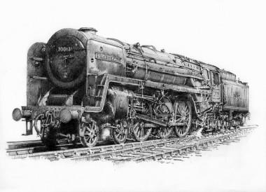 BR Britannia Class Oliver Cromwell