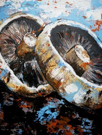 Mushroom Starwars Framed