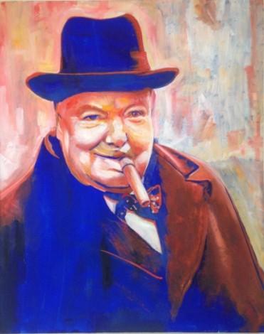 Churchill ,Signature