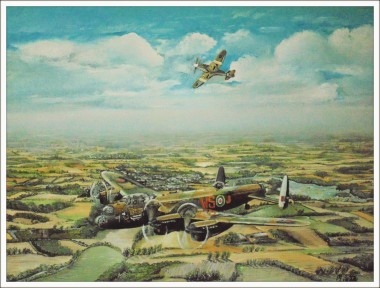lancasters flight home